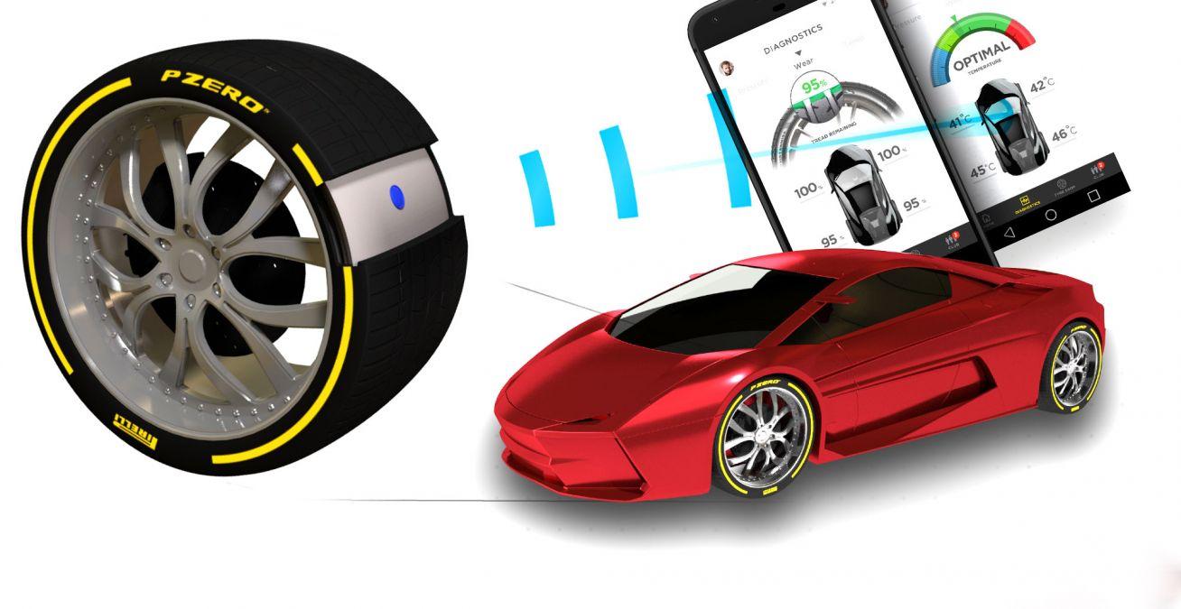 Pirelli dévoile le pneu connecté