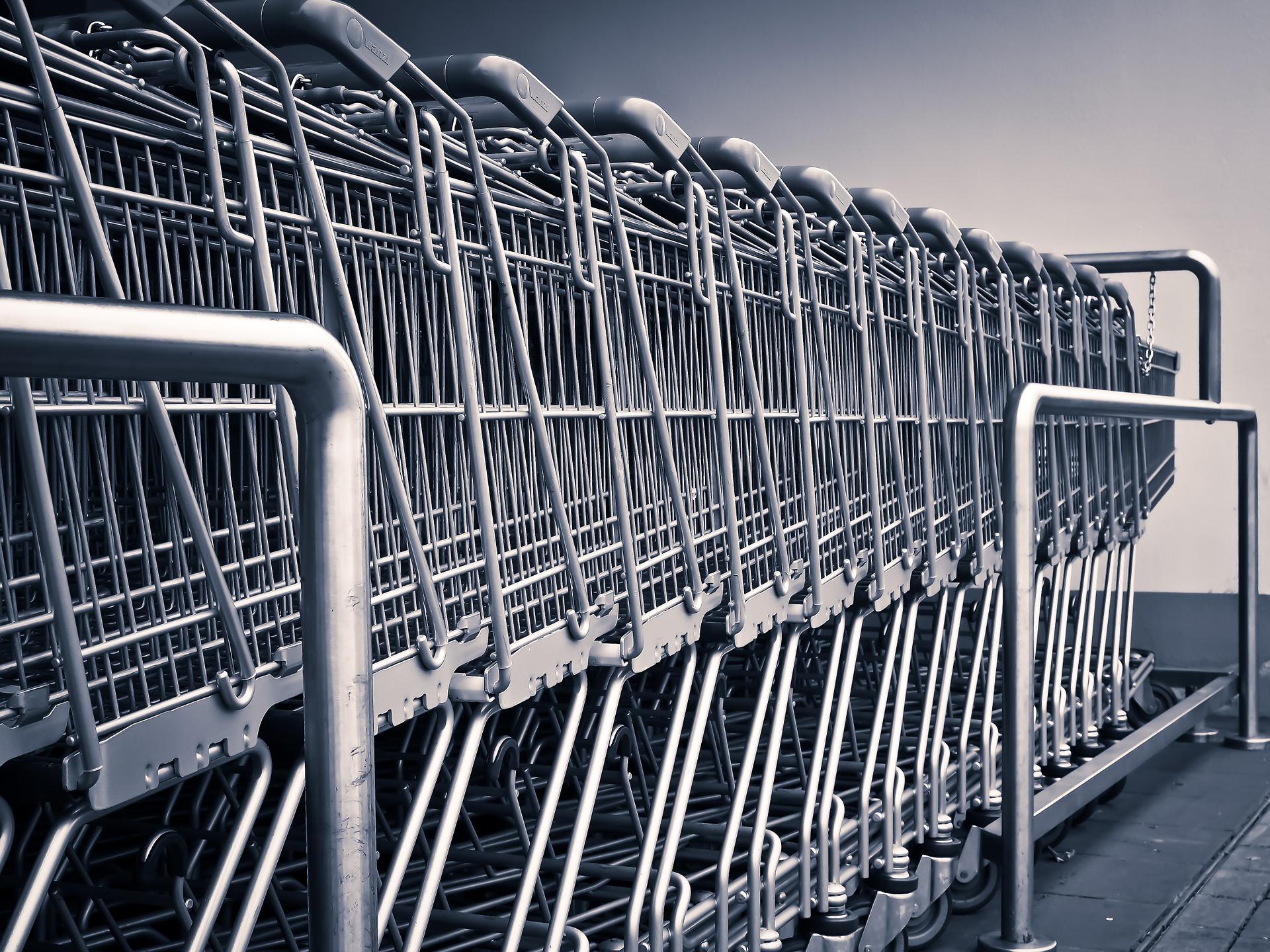 Les chariots connectés de Wanzl pour les supermarchés