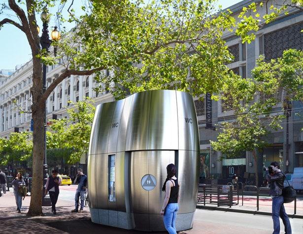 Ces WC futuristes permettent d'économiser de l'eau potable
